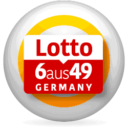Germany 6aus9 lotto logo