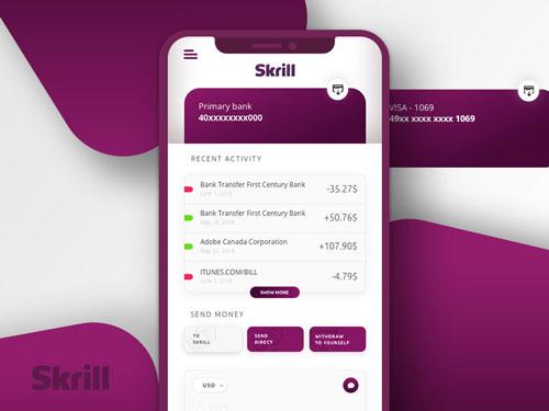 Skrill App Payments