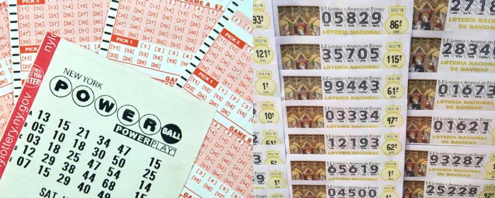 powerball and el gordo tickets
