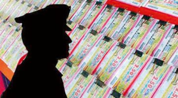 Fake lotto tickets in India