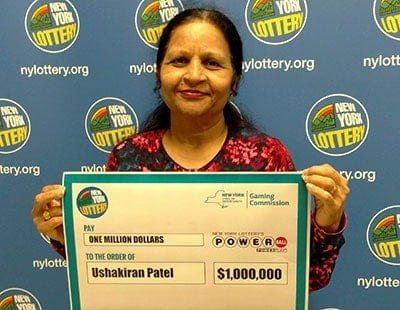 Indian retiree wins huge Powerball prize
