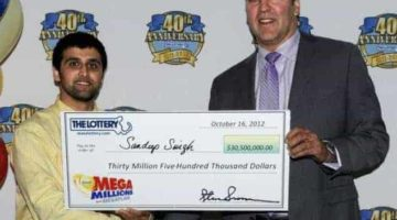 Mega Millions winner from india