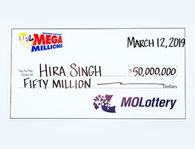 Indian winner of Mega Millions Jackpot