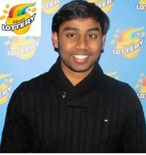 Indian Student wins $1 000 000 from Powerball lottery