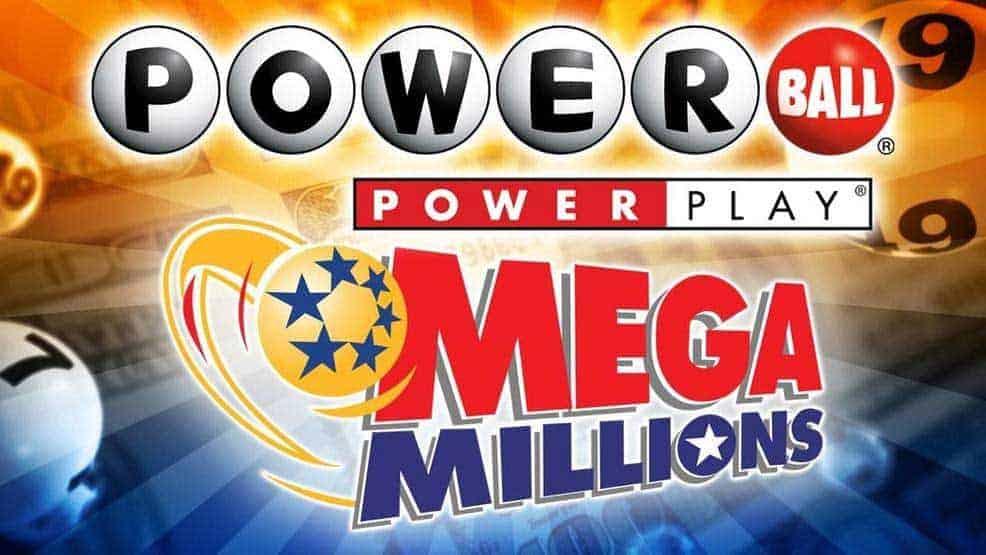 Powerball and Mega Millions logos