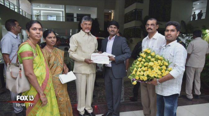 Jackpot Winner Opens Education Trust Fund in India