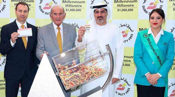 2 Lucky Indian Dubai Duty Free Lottery Winners