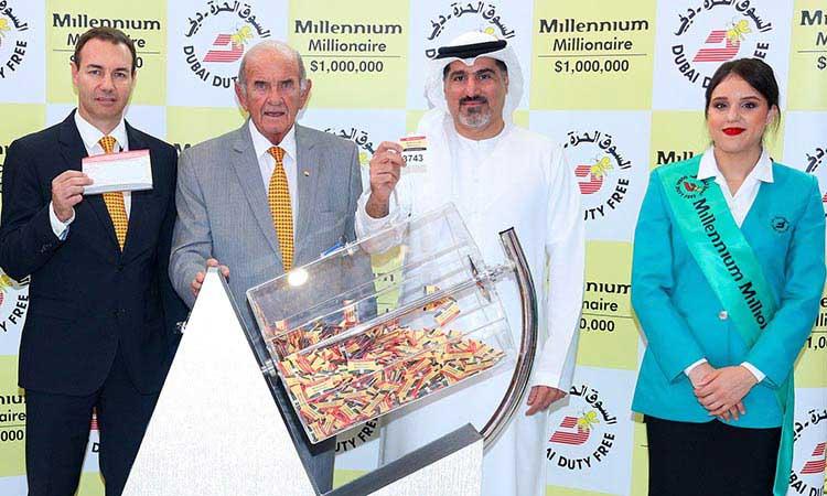 Dubai duty free draw