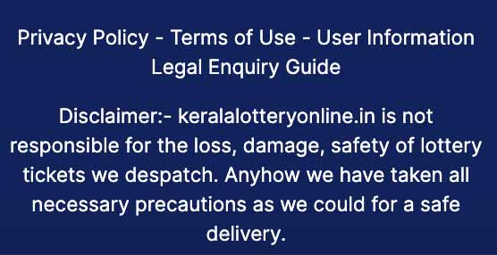 keralalotteryonline.in scam
