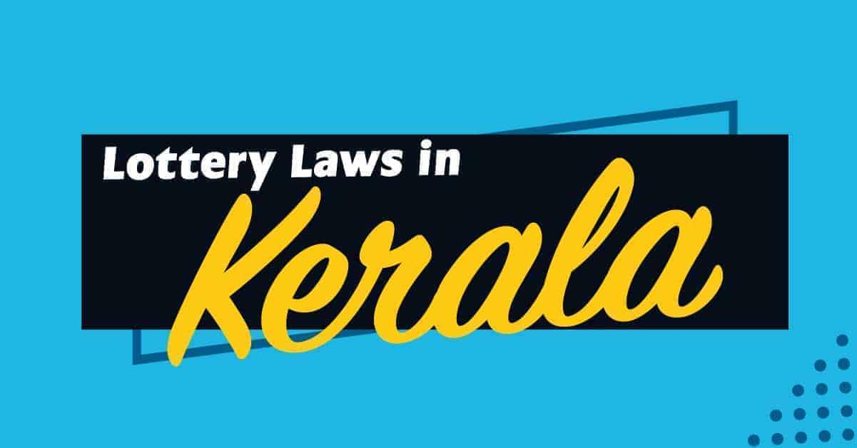 lottery laws in kerala
